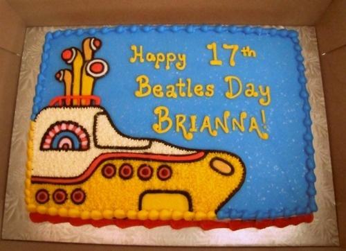 beatles cake | Tumblr