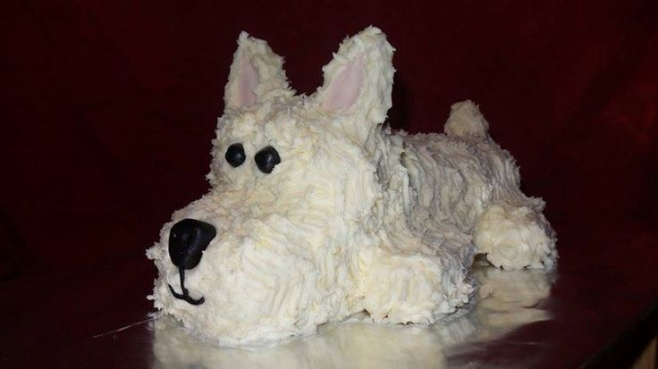 "West highland terrier ""Buddy"" made by Darlene & Jolie"