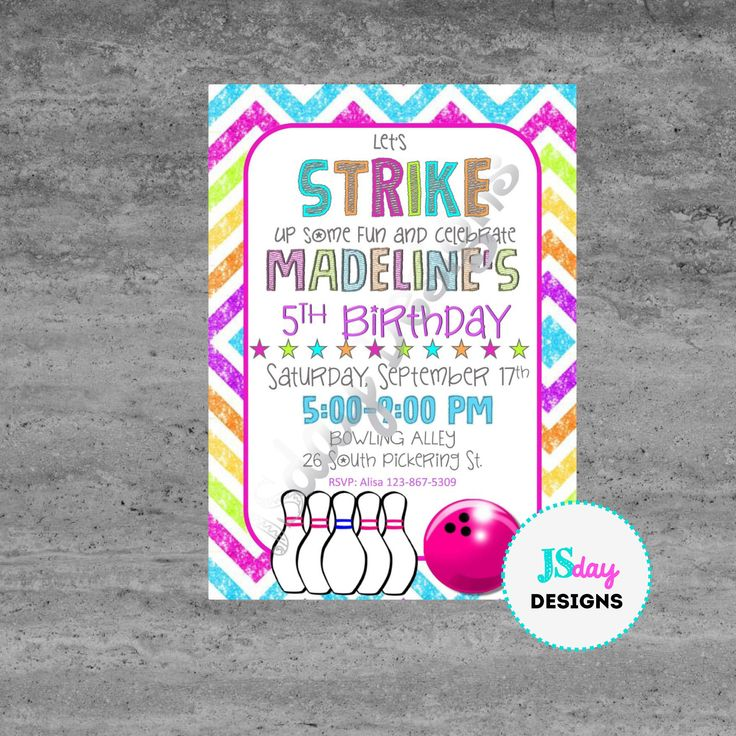 Best 25+ Teen birthday invitations ideas on Pinterest Birthday - bowling flyer template free
