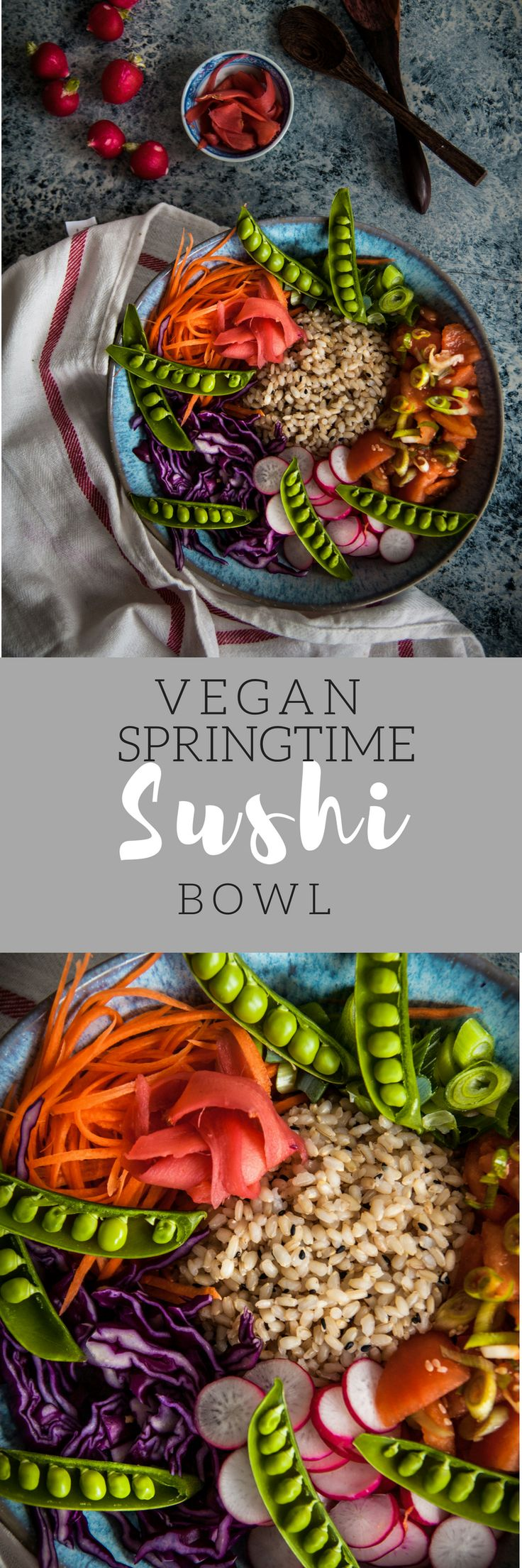 Welcome spring with this vegan sushi bowl!