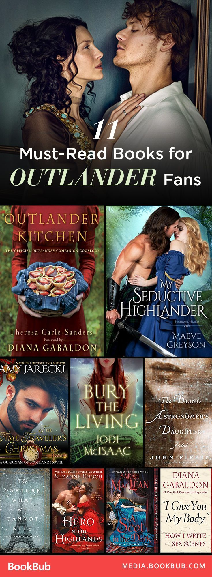 Hunting for books to read if you like Outlander? Check out these 11 great romance books to read next.