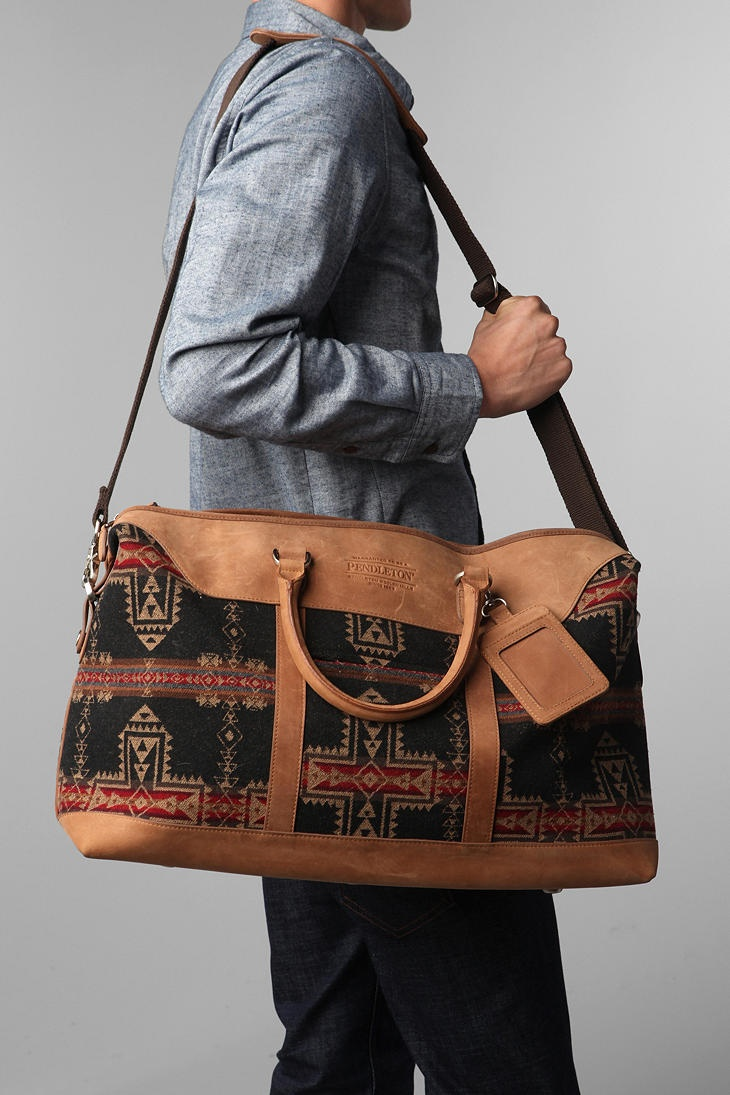 pendleton bag for MEN #Menswear Like our FB page https://www.facebook.com/effstyle