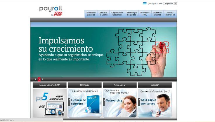 Sitio Web Payroll.com.ar