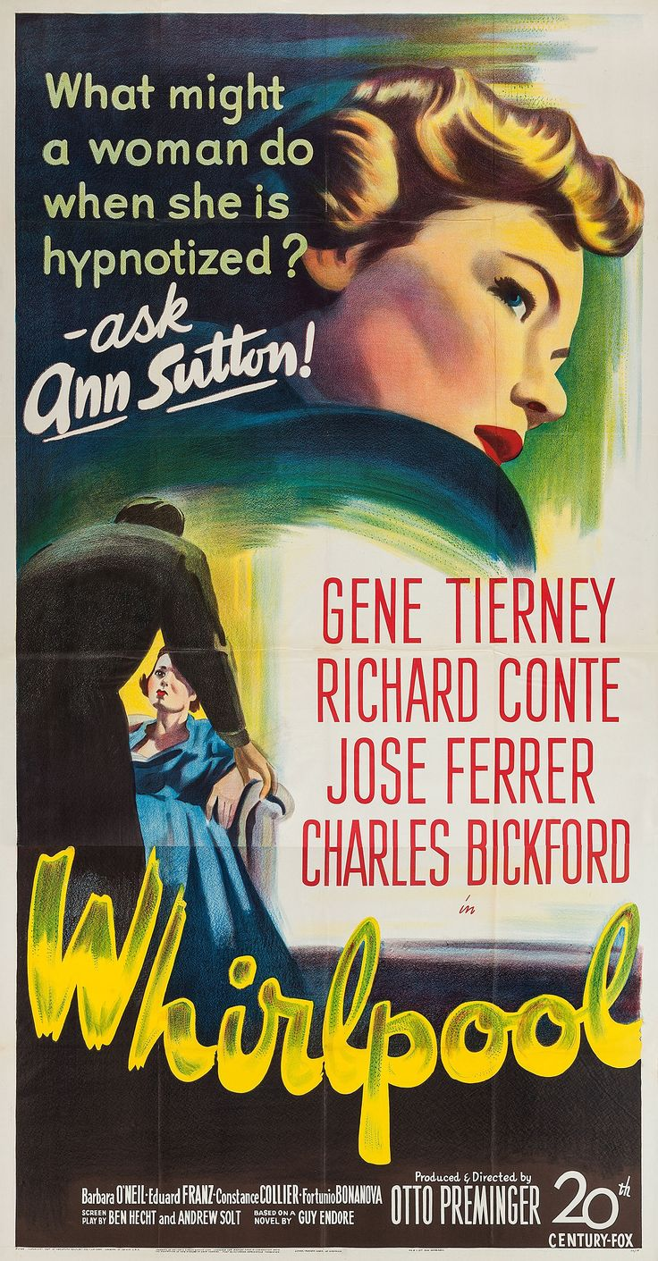 [1949] Entretenido thriller con Gene Tierney y Richard Conte. José Ferrer el que mejor está en su papel de psicólogo timador. El argumento es un tanto insulso y poco creíble, pero está bien desarrollado. El final un poco decepcionante. Para pasar un rato entretenido. Un 7/10