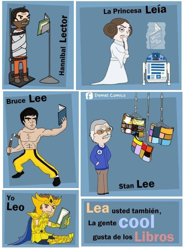 La princesa Leía, Bruce Lee y yo Leo