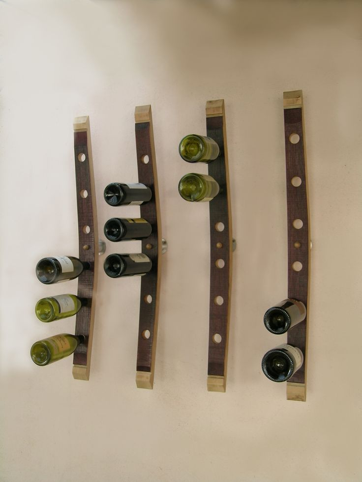 range bouteille mural ,cellar accessories,,Accessories bottles, create by Eric Daout / www.douelledereve...