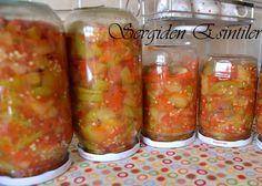 Sevgiden Esintiler: Kışlık Sirkeli Patlıcan Konservesi