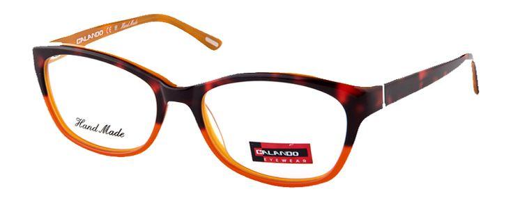 CALANDO 7063 Brown Orange #CALANDOeyewear #eyewear #AW15 #designerframes