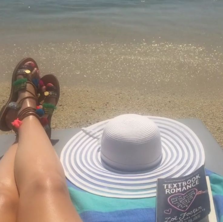 Grace relaxing in style with her Knotty Superbright and those amazing sandals! 💕 www.knotty.com.au