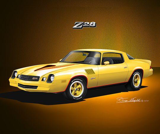 1978 Camaro 1978 1979 CAMARO Z28 Bright Yellow