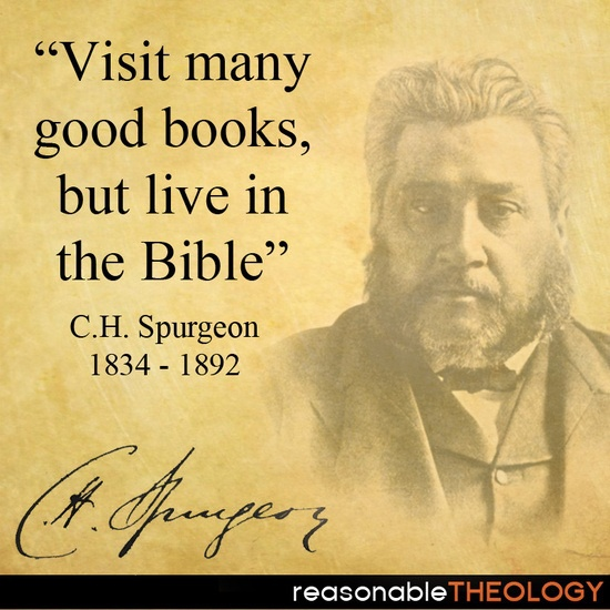 Visit Books; Live in the Bible.