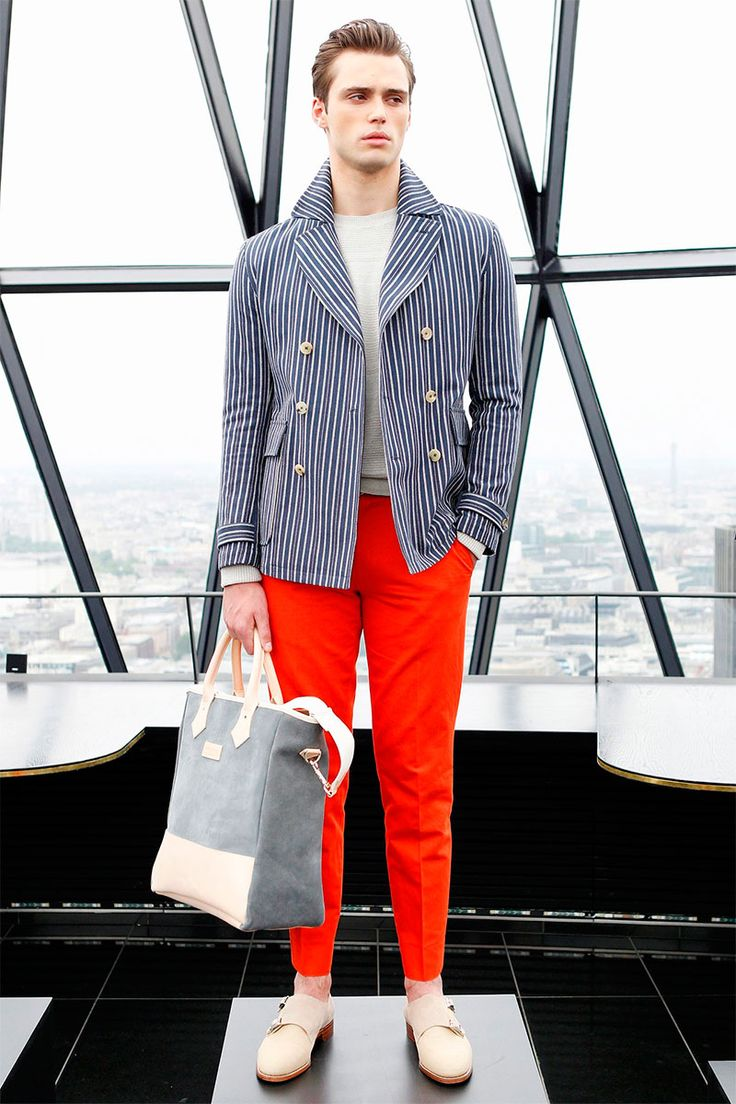 men's runway spring/summer prada 2014 | its Spring/Summer 2014 collection during London Collections: Men ...