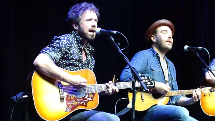 "Throwback Thursday: Colin MacDonald of the Trews onstage on the Rock Boat XVI, Jan 2016, with Scott Terry (Red Wanting Blue), Tim Warren (The Alternate Routes), and Will Hoge, performing ""Ohh La La"" by The Faces, to close out the songwriter's circle. Thanks to artvandelaythethird for sharing on YouTube."