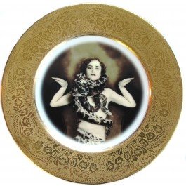 Fab hand customised antique plate.