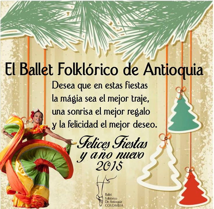 El #BFDA desea que en estas fiestas la magia sea el mejor traje, una sonrisa el mejor regalo y la felicidad el mejor deseo. ¡Felices fiestas!