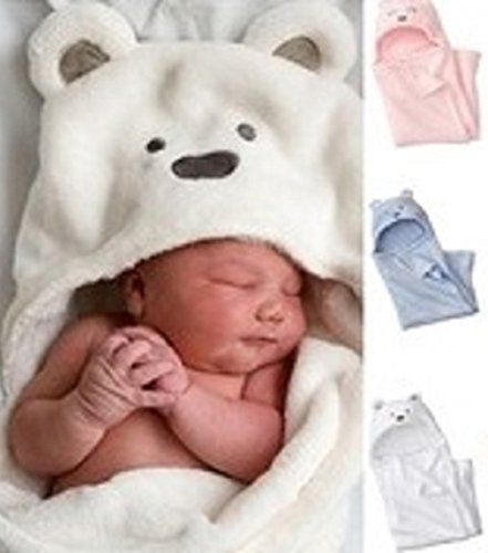 Hooded Baby Towel - Baby Blanket - White - Babies - Infants - Newborns -Toddlers - Kids - Perfect for Baby's Sensitive Skin - Easy Care - Machine Wash and Dry - Soft - Cuddly - Beautiful - Practical - Warm - Great Shower Gift Cassandra Dee http://www.amazon.ca/dp/B0178AJ27Q/ref=cm_sw_r_pi_dp_sJOwwb0Q9G8C2