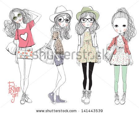 find this pin and more on fashion kids sketches - Kids Sketches