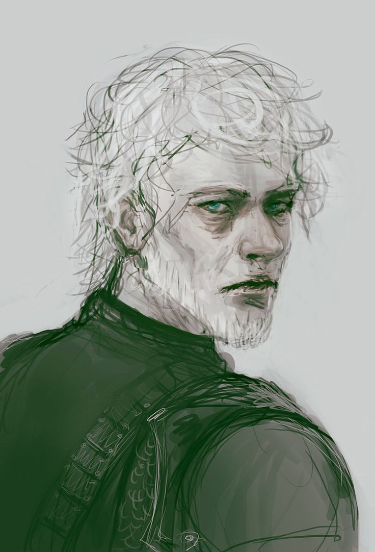 Theon | Sample Chapter from The Winds of Winter | Art: He smiles less often now by LynxSphinx | DeviantArt http://lynxsphinx.deviantart.com/art/He-smiles-less-often-now-462715148