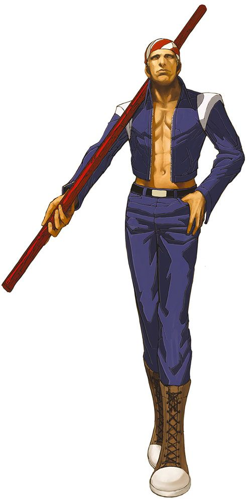 Billy Kane from The King of Fighters 2002