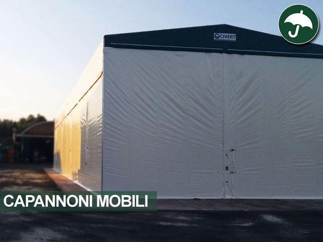 #capannoni #mobili #pvc Civert. Installazione in provincia di #asti