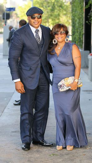 LL Cool J and his wife Simone