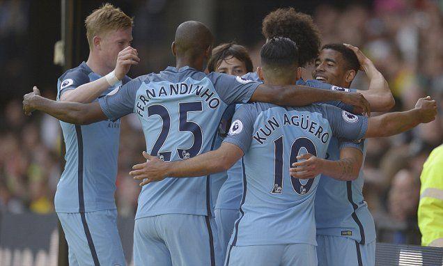 Watford 0-5 Manchester City: Sergio Aguero scores twice