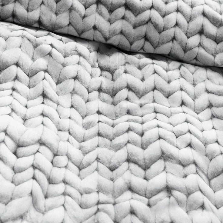 Stockinette texture -- knitting inspiration