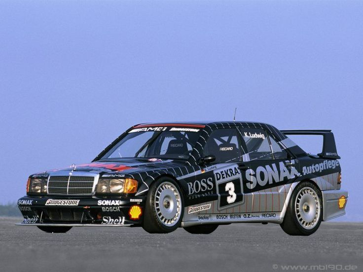 Klaus Ludwig's Mercedes 190 Evo II  from 1992