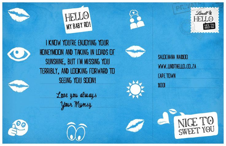 Enter our LINDT HELLO competition and win a trip to say HELLO anywhere in the world #LINDTHELLOSA