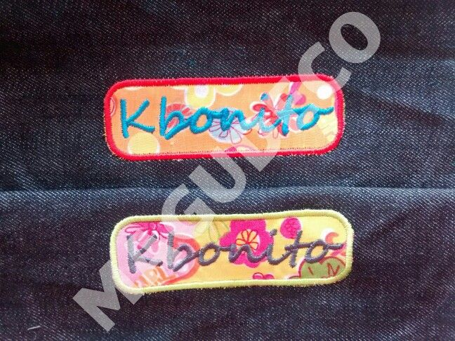 Borado +aplique Kbonito