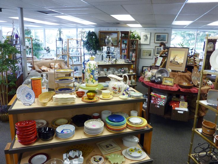 Retail Display Is Always Changing In Thrift Store Boutiques Color Movement Flow All