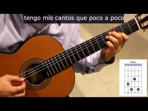 """▶ Como tocar """"Pequeña serenata diurna"""" de Silvio Rodríguez - YouTube"""