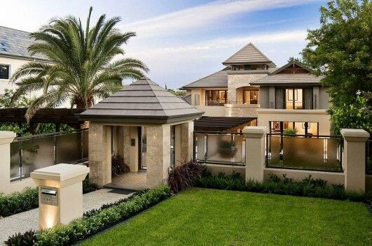 What a beautiful home front view when i think of home for Beautiful house design front view
