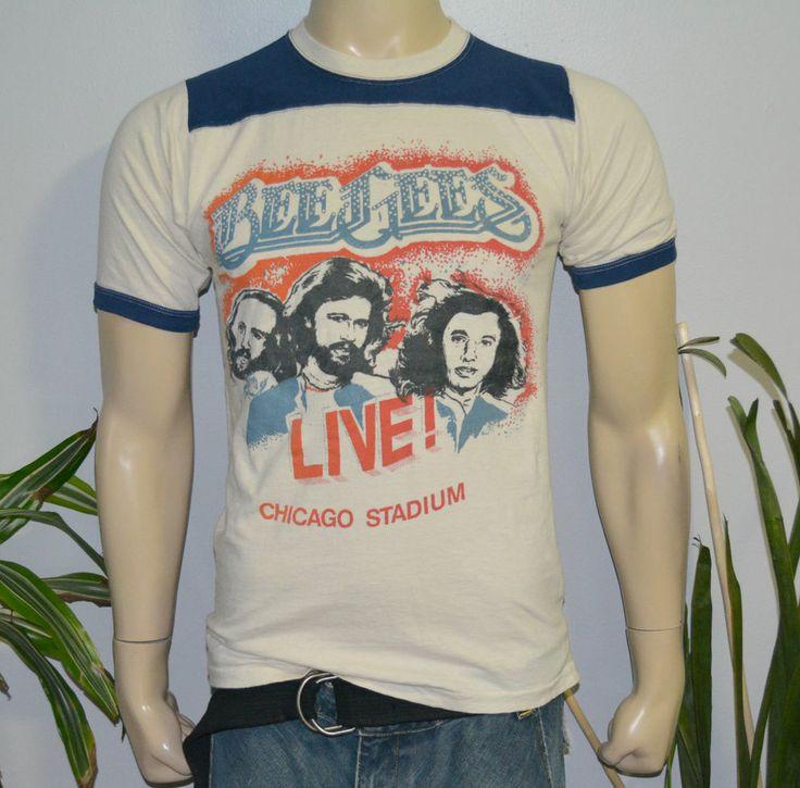 Accept. Vintage 80s concert t-shirts can
