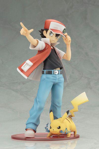 Crunchyroll - Trainer Red w/ Pikachu ARTFX J Statue - Pokemon