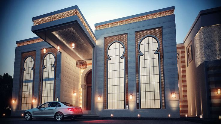 arabian villa rendering - Google Search