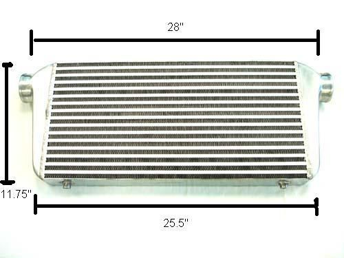 Megan Racing Large Universal Intercooler