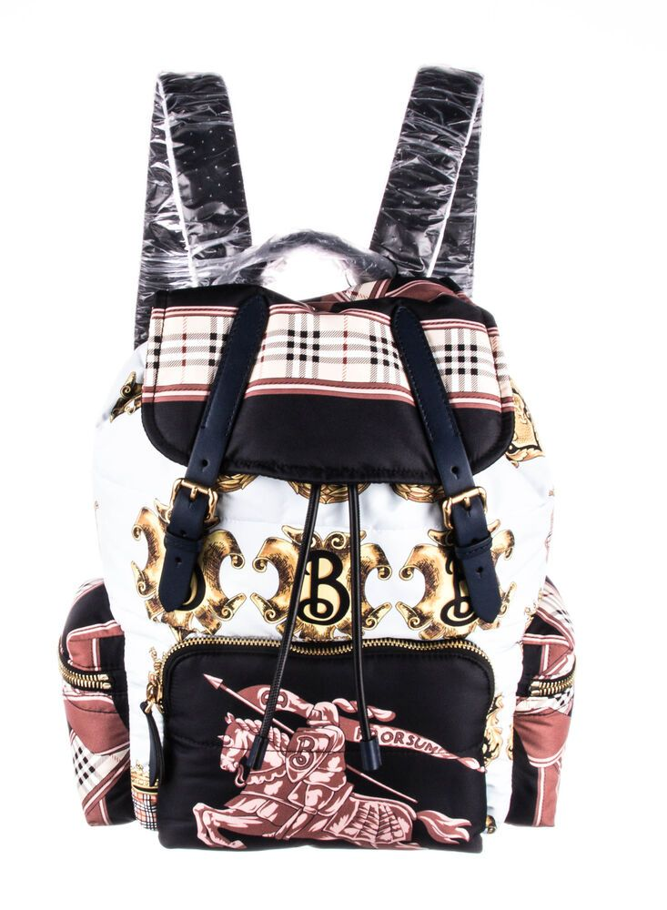 24bd8e97060 New With Tags BURBERRY Nylon Archive Scarf Rucksack Backpack  fashion   clothing  shoes  accessories  mensaccessories  bags (ebay link)