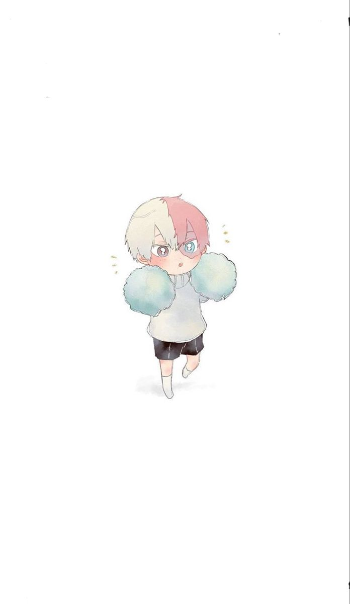 Todoroki Wallpaper Anime Wallpaper Chibi Wallpaper Cute Anime Chibi