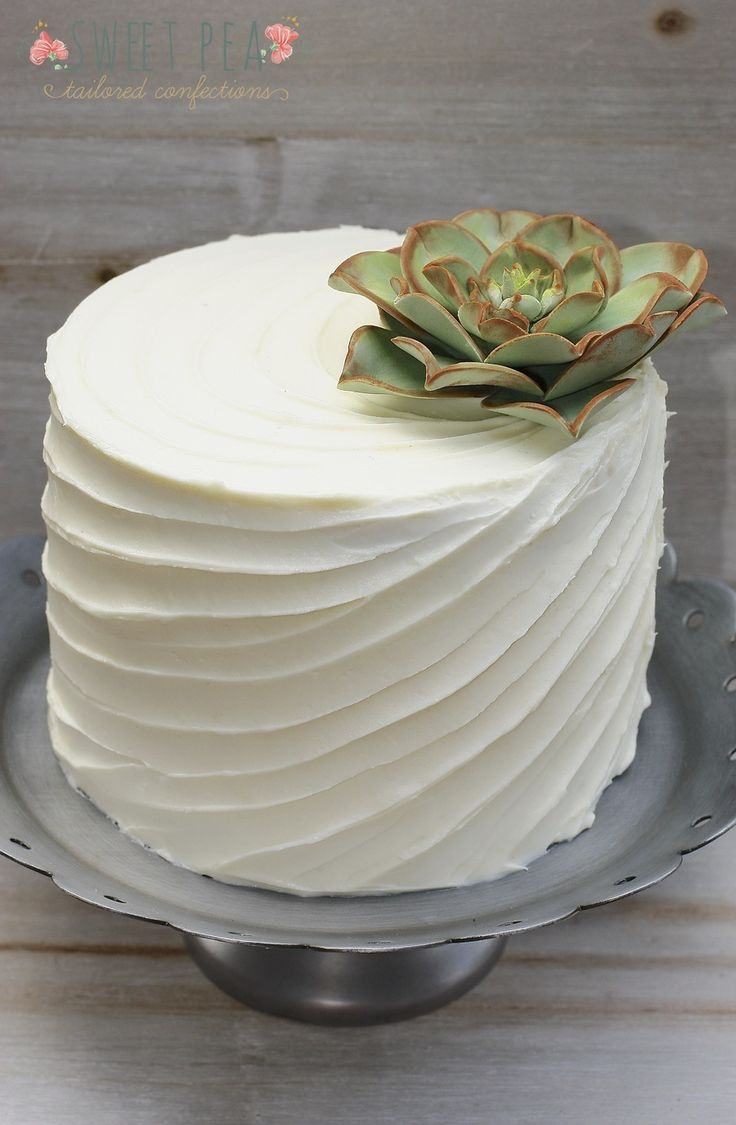 How To Design A Cake Using Butter Icing : Best 20+ Buttercream techniques ideas on Pinterest
