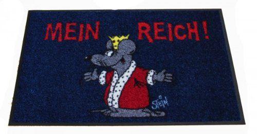 http://ift.tt/1mql3LI Waschbare Fußmatte  Uli Stein  Maus  Mein Reich!  50x75cm washdry %&$taferon#