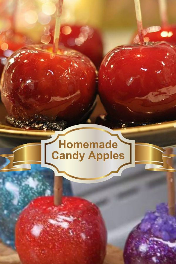 Homemade Candy Apples Easy To Make And So Yummy Taste Better Than The County Fair Candy Apples Candy Apples Candy Apple Recipe Homemade Candies