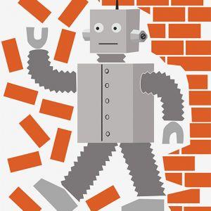 Plakat Robot Bimbam NUNU BABA