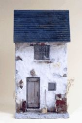 Rustic Retreat - Create a distressed miniature house front with Marlene Corke Part 1