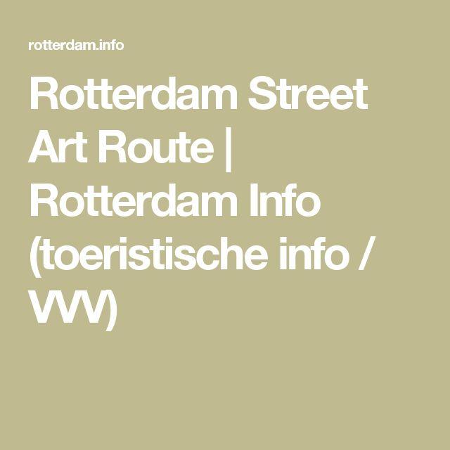 Rotterdam Street Art Route | Rotterdam Info (toeristische info / VVV)