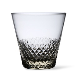 """Kiriko"" is the Japanese traditional technique and products of cut glass from Edo period. this glass is the product of present day. but the color is reproducted from ancient times."