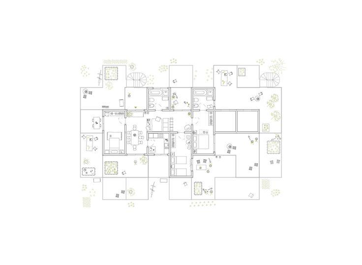 Gallery of Alvenaria Social Housing Competition Entry / fala atelier - 18