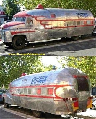 """Full Time RV Road Warriors: Best of Custom """"So Ugly it's Cool"""" Campers - would love to camp or """"survive"""" in this!!"""