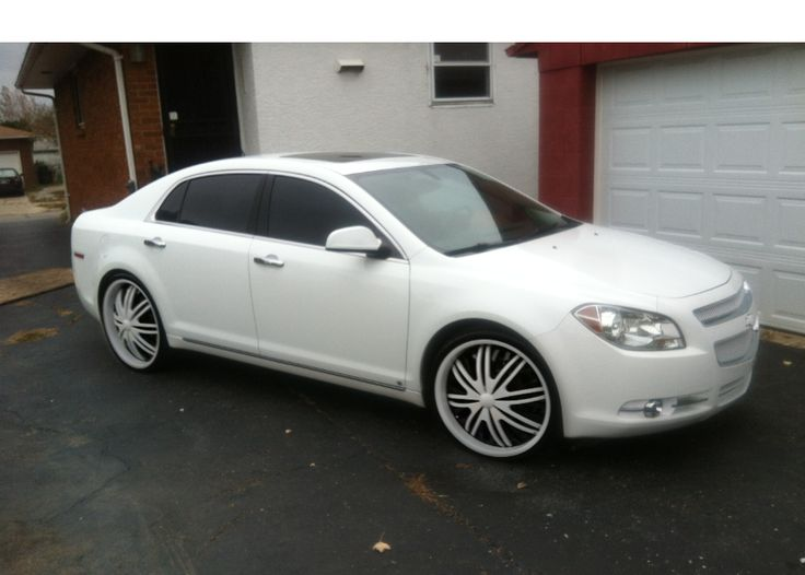 2011 Chevy Malibu LTZ | White on White