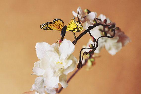 flutter by butterfly headband by kisforkani on Etsy